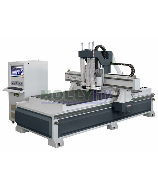 Double Spindles and Drilling Group CNC Cutting Machine HK21